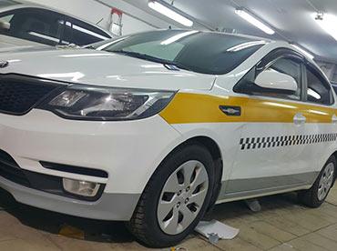 Оклейка такси по ГОСТ Московской области