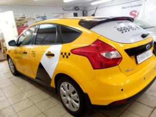 «Ford Focus» - брендирование для агрегатора «Яндекс Такси»